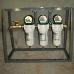 Custom Built  Three Stage Low Pressure Diver's Air Filtration System (Contact Us About Pricing On Custom Built Equipment)